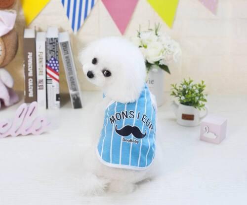 Pet Vest Puppy Various Shirt Apparel Hot Dress Small Dog Cat Pet Clothes Summer
