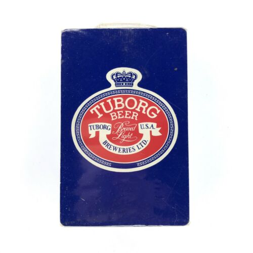Tuborg Beer Playing Cards Sealed Deck Vintage Advertising USA