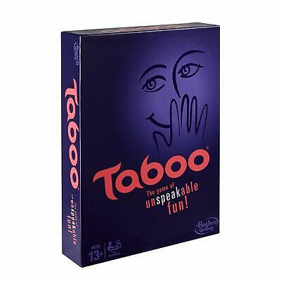 TABOO Classic Board Game Party Fun Friends Family Night Holidays Event Adults