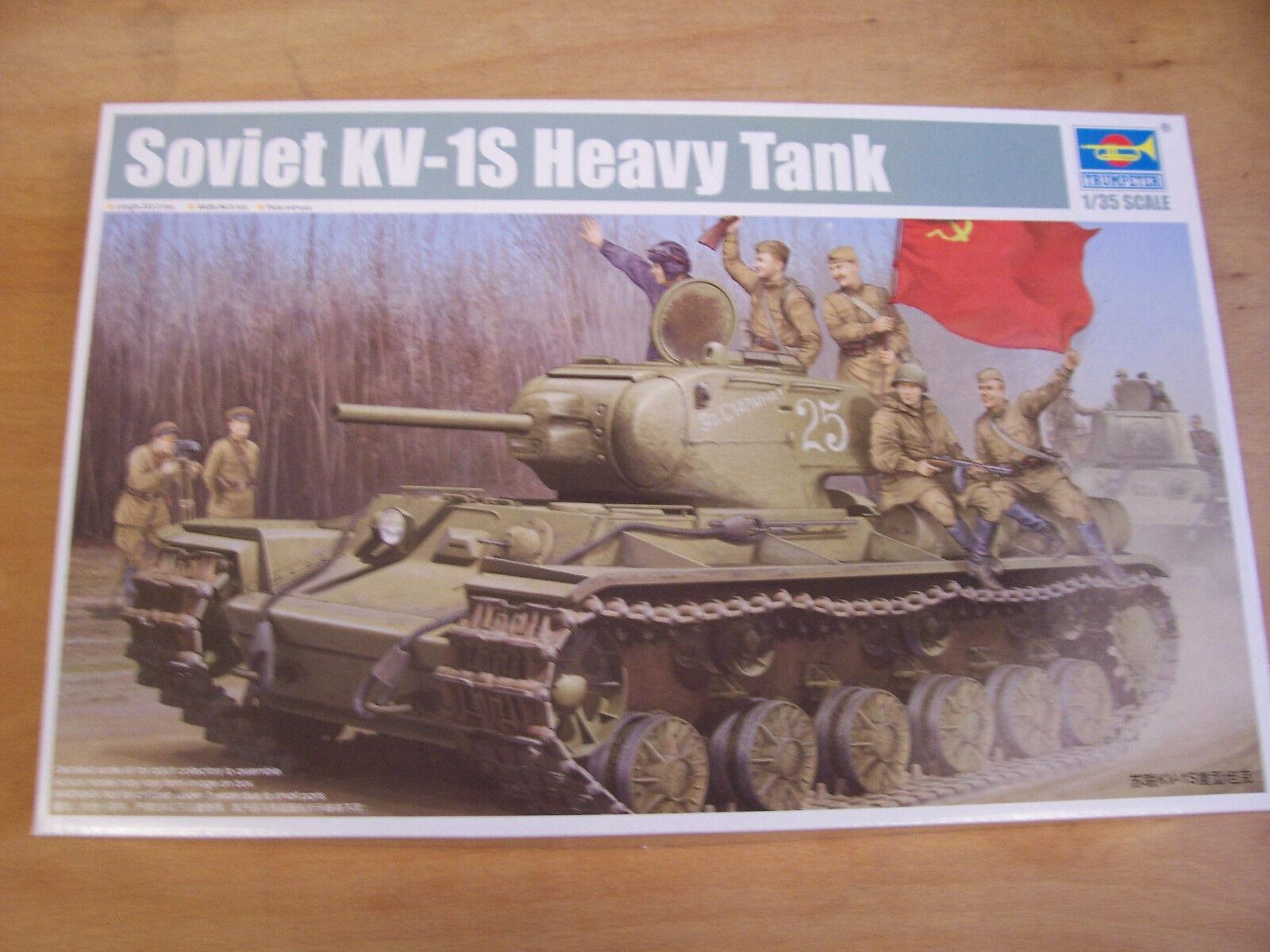 Trumpeter 01566 - Soviet KV-1S Heavy Tank - 1 3 5 Ovp 184