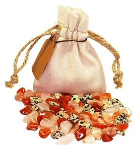Marriage Power Pouch Healing Crystals Stones Set Tumbled Natural Gemstones