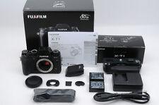 Fujifilm XT1 X-T1 Black + Battery Grip(VG-XT1) + BOX & Other -NearMint (Fu-70)