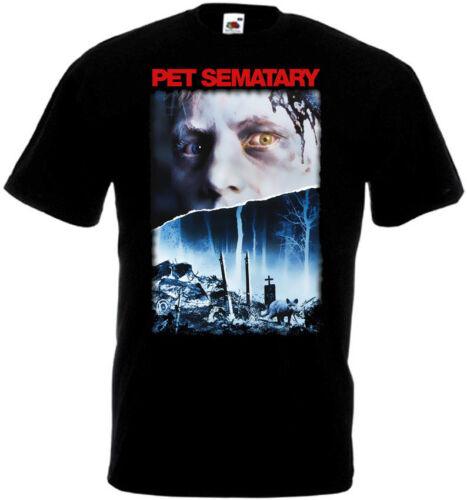 Pet Sematary v.6 T-shirt black Poster all sizes S...5XL