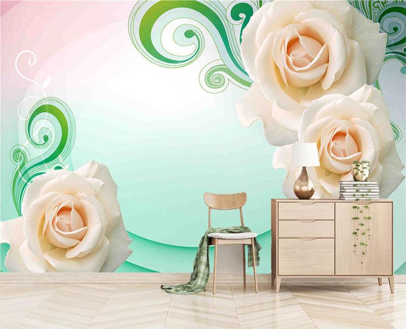 Vivid Later Lotus 3D Full Wall Mural Photo Wallpaper Printing Home Kids Decor