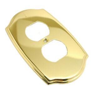 "AMEROCK Solid Brass 6/"" Hanging Toilet Paper Holder Polished Brass Chrome"