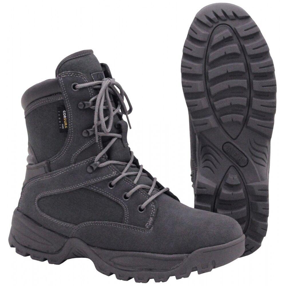 MFH Stiefel Mission Mission Mission Cordura gefüttert urban grau Schuhe verschiedene Größen 53eb3b