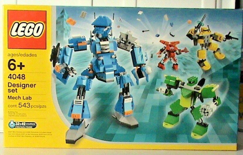 NEW Lego Designer Set 4048 MECH LAB Sealed Boys Girls Ships World Wide
