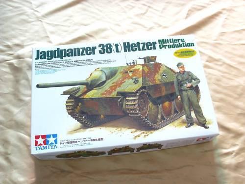Tamiya 35285 1 35 Jagdpanzer 38(t) Hetzer Mid Productio