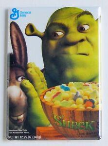 Shrek /& Donkey Cereal Box FRIDGE MAGNET