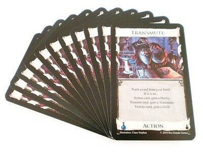 Dominion Alchemy Replacement / Expansion Transmute Action Card 11x
