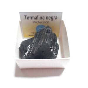 Turmalina-Negra-Cuarzo-Piedra-Cristal-Natural-En-Cajita-de-Coleccion-4x4-cm