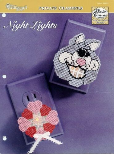 Night-Lights Cat Heart Wreath TNS Plastic Canvas Pattern NEW 30 Days to Pay!