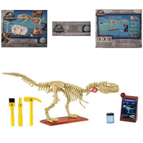 T-rex Haste Fossil Kit paleontologista Mattel Jurassic World Fallen Reino 2018
