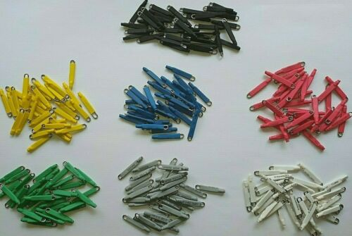 35 coupling quick clips clamp 1 mm surfcasting rockfishing inox 1,5 cm