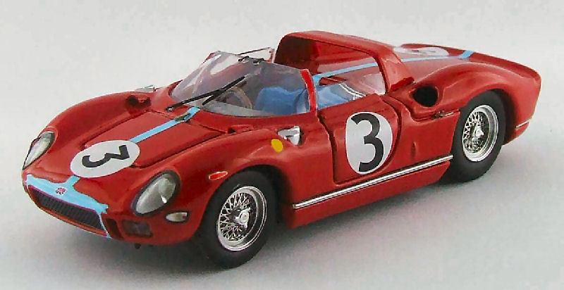 Ferrari 330 p winner Tourist Trophy 1964 g. hill 1 43 Model 0289 tipo-Model