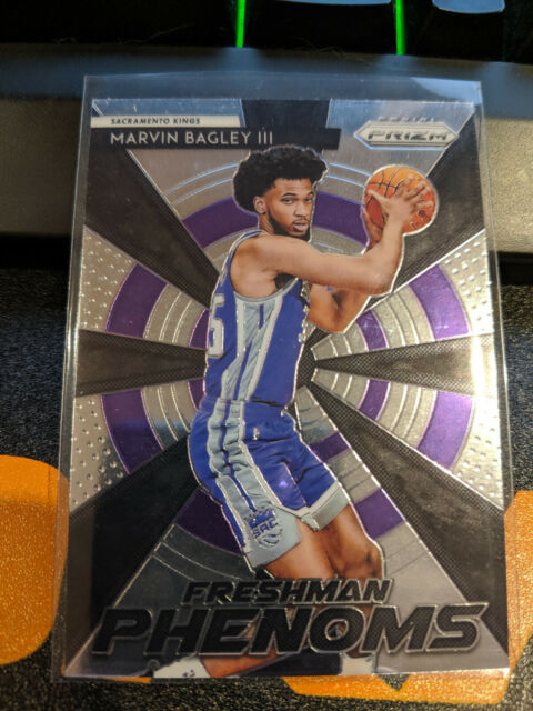 Sacramento Kings 2018-19 Prizm Freshman Phenom Marvin Bagley III Silver ROOKIE N