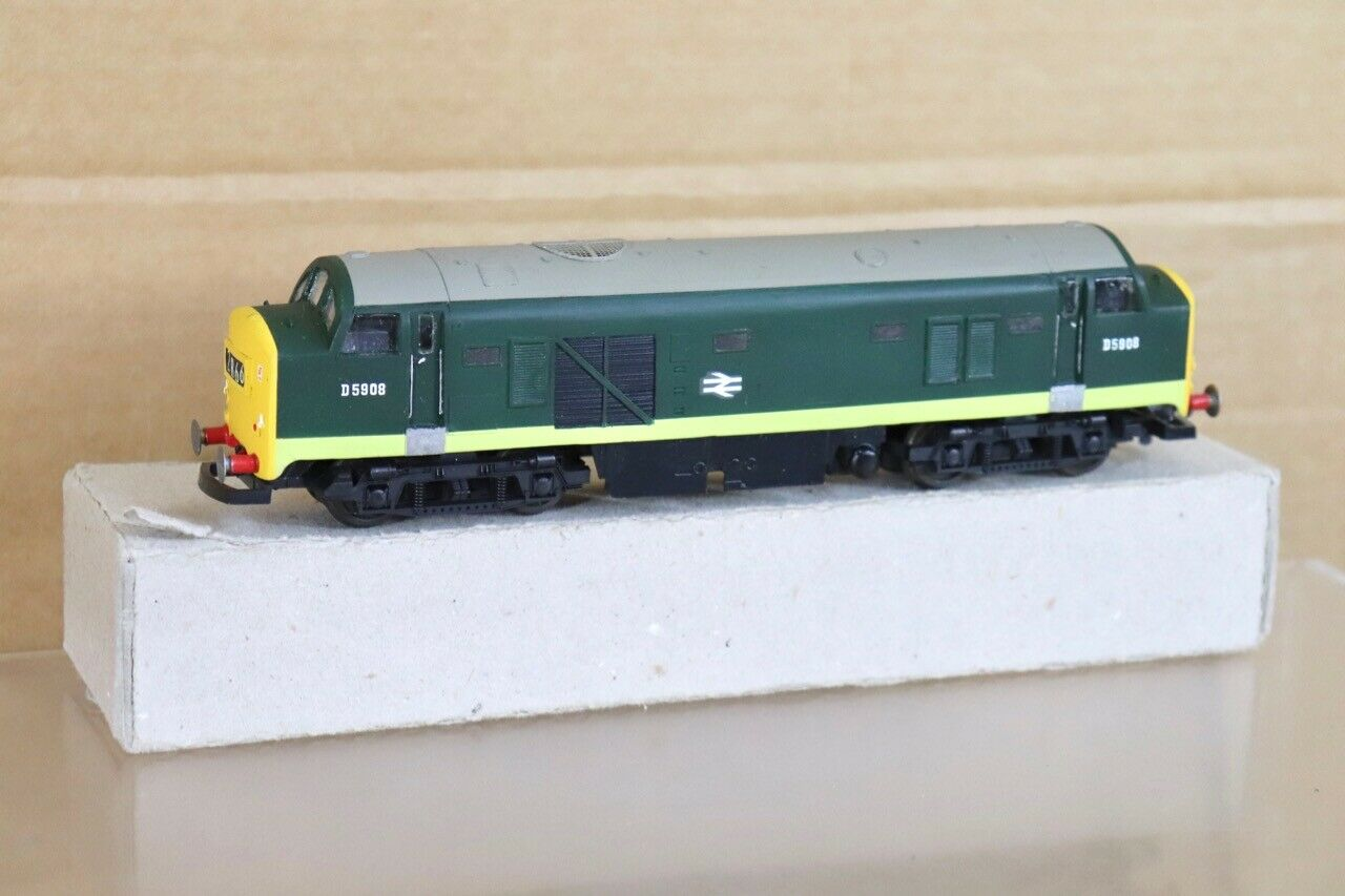plata FOX MODELS LIMA RE PAINTED BR BABY DELTIC CLASS 23 DIESEL LOCO D5908 nt