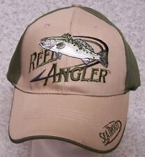 025281e3e70a8 Embroidered Baseball Cap Fishing Sea Trout Reel Angler NEW 1 hat size fits  all