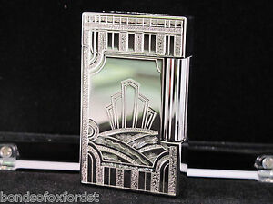 S T Dupont Limited Edition Art Deco Palladium Ligne 2