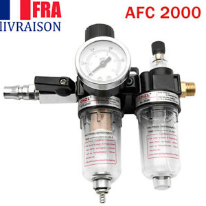 Air filtre régulateur piège compresseur Piège séparateur d'eau AFC2000
