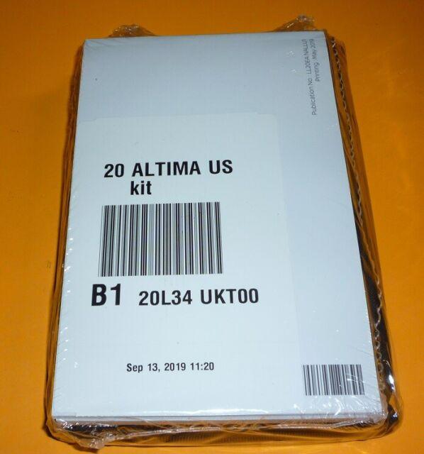 2020 Nissan Altima Sedan Owners Manual Set 20 Case S Sv Manual Guide