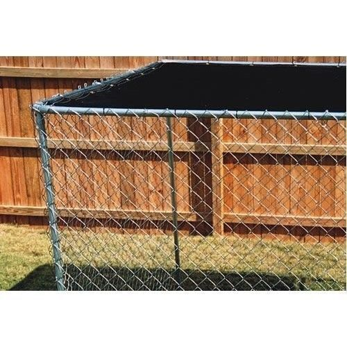 Outdoor Dog Kennel Cover Knitted Screen Sun Shade Cloth UV