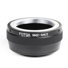 FOTGA M42 lens to Micro 4/3 M4/3 Adapter For Panasonic G10 GF5 GX7 Olympus E-PL7