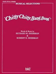 Chitty Chitty Bang Bang Vocal Selection Pvg-afficher Le Titre D'origine