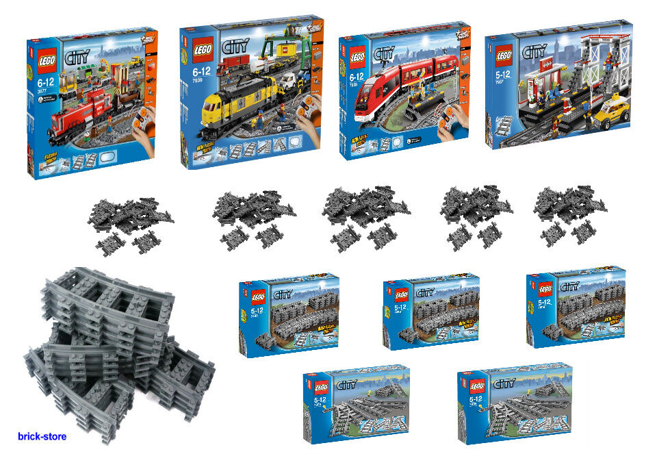LEGO CITY Ferrovia Set SCELTA 7937 7938 7939 3677  7499 7895 e binari