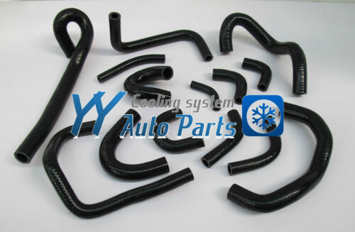 Silicone Heater Hose for Nissan Skyline GTR R33 R34 RB26DET Black