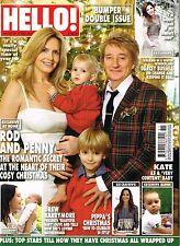 HELLO! Magazine 31/12/2012 Rod Stewart DREW BARRYMORE Kate Middleton @New@