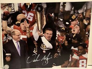 Urban Meyer Hand Signed Autographed 11x14 Photo w/ COA OSU Ohio State Buckeyes