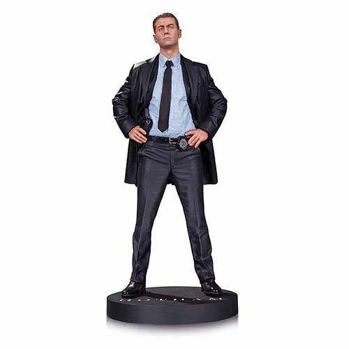 DC Comics  Gotham TV Series  JAMES GORDON 13  Statue box damage (19b)