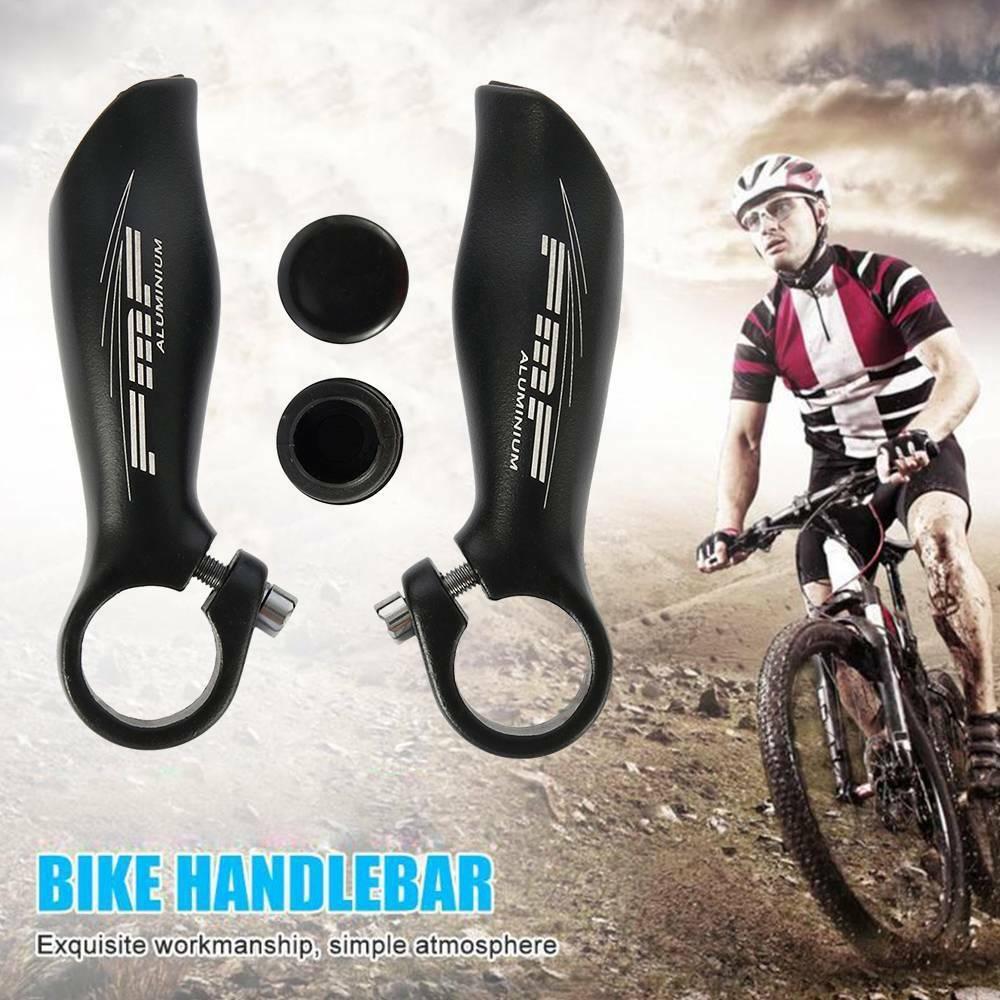 3K Full Carbon Fiber Glossy Matte Black Bicycle Road MTB Bike Handlebar Bar Ends