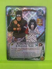 Naruto CCG FOIL Shikamara Nara /& Asuma Sarutobi #860 *MINT Condition