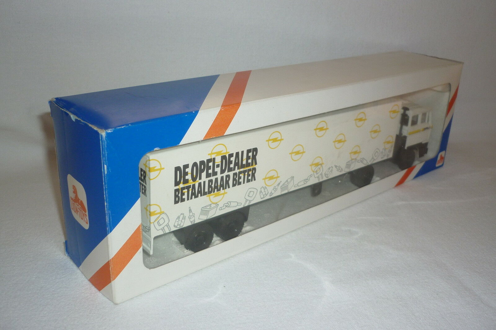 Lion Toys   Model - Lorry with Container - Opel Dealer - 1 43 - OVP