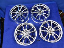 New Listing15 16 17 18 19 20 Ford Mustang Oe Fr18c Chrome Pvd 19 Wheel Set Of Wheels V48