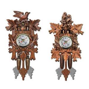 Vintage Cuckoo Clock Swing Wooden Art Wall Hanging Clock Alarm Home Decor Gift