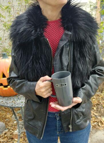 Camuto Kunstpelz Xsmall Tags Damen Jacke Mantel mit von Neu Vince Größe Xs 4qn8nECxS