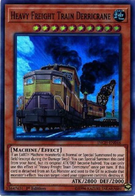 1st Edition Common 3x Heavy Freight Train Derricrane TDIL-EN090