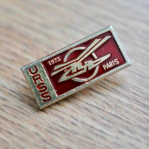 Helicopter KA Kamov USSR 1973 Paris Vintage USSR Soviet Russian Pin Badge