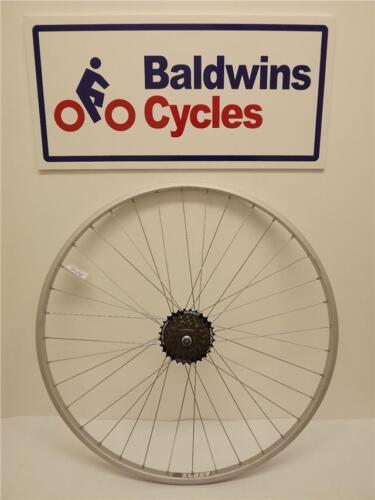 6 SPEED SHIMANO FREEWHEEL ROAD Bike 700c REAR NARROW HYBRID Cycle Wheel