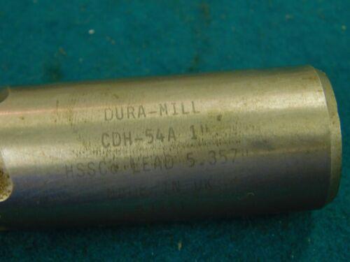 "DURA MILL HSSCo 1.0/""  x 2.0/"" LOC Roughing End Mill"