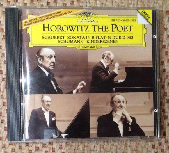 VLADIMIR HOROWITZ - HOROWITZ THE POET - Schubert - Schuman