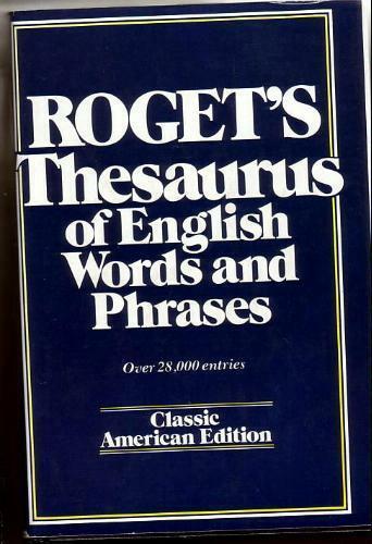 rogets thesaurus online