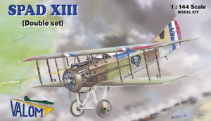 Valom-1-144-Model-Kit-14412-Spad-XIII-Dual-Combo-2-kits-included