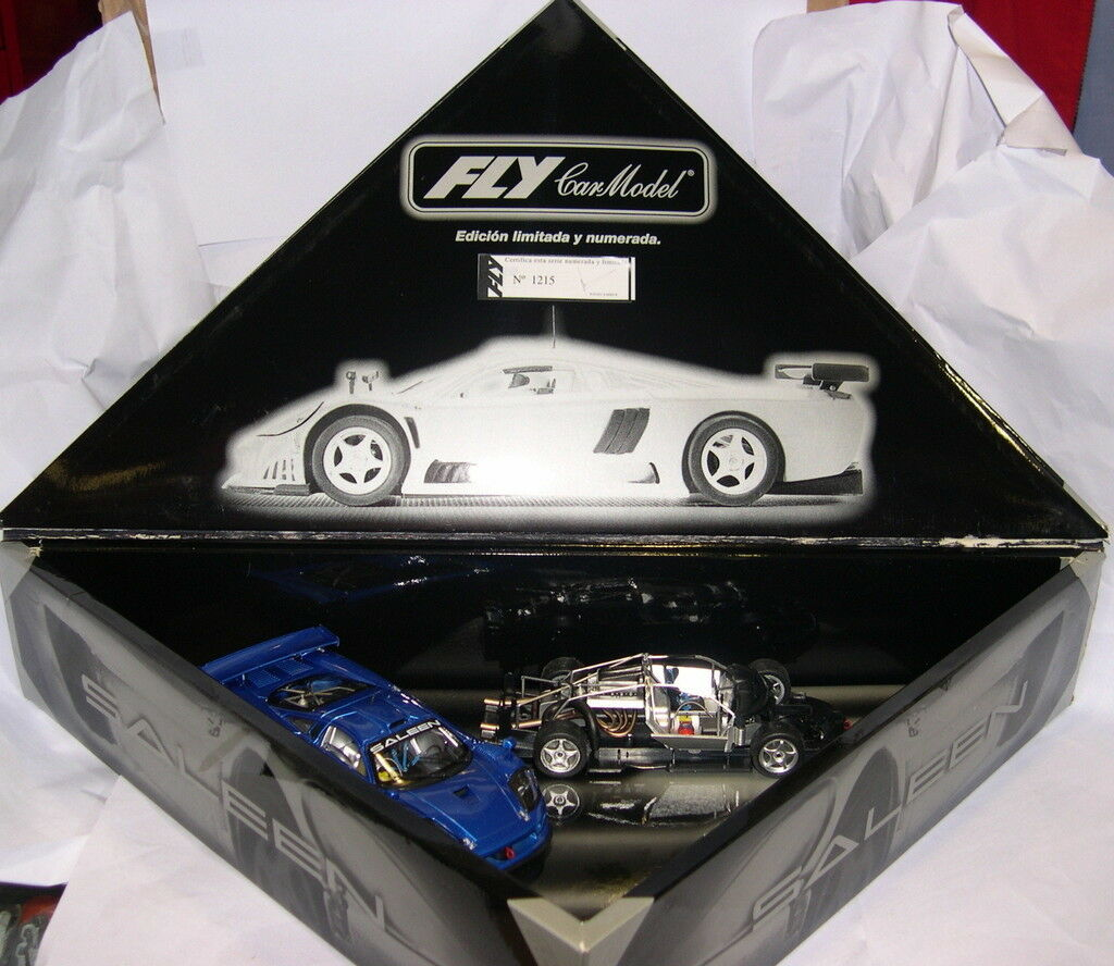 FLY 96005 E-262 SLOT CAR SALEEN S7-R SREET blueE SET LTED. ED MB
