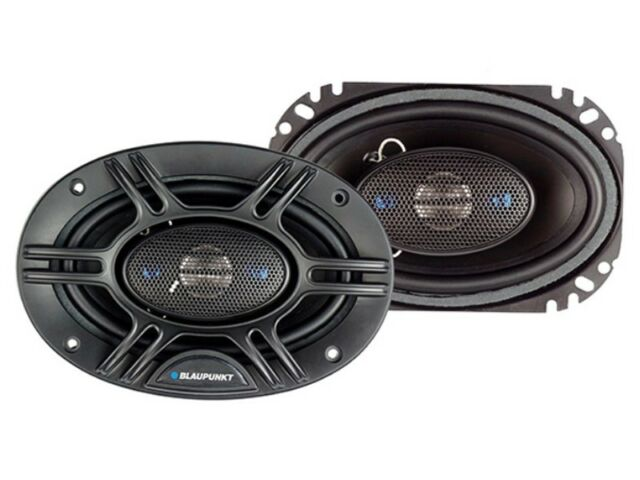 Blaupunkt 6.5-Inch 360W 4-Way Coaxial Car Audio Speaker Set of 2