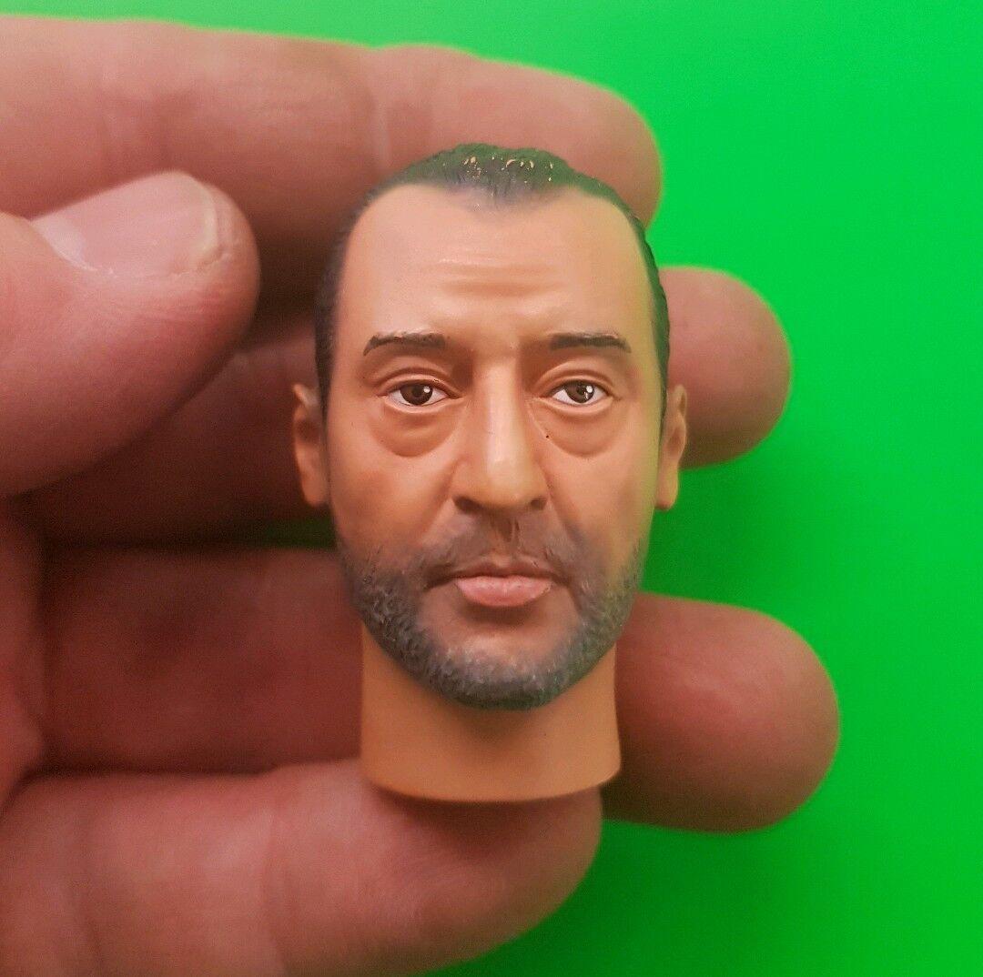 1 6 scale Jean Reno as Léon or Wasabi 's head Dragon Models for 12  figure