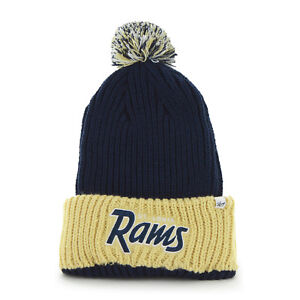 buy popular b50cd 8df96 Image is loading NFL-Saint-Louis-Rams-tall-cuff-knit-hat-